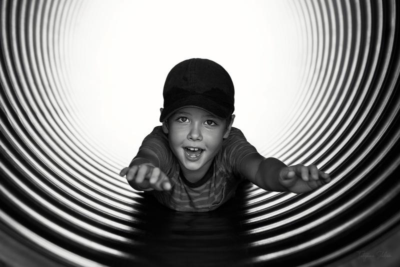 Houston Child Photographer; Houston Family Photographer; Black and White; Child Portrait