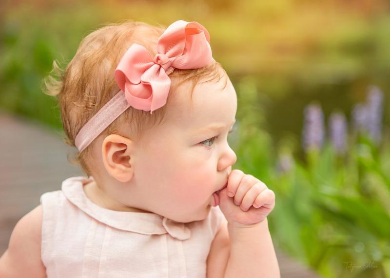 Portrait Photographer in Houston; Houston Child Photographer; Houston Family Photographer; Baby Girl Portrait